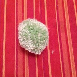 Schritt 11: Frosch aus Wolle basteln