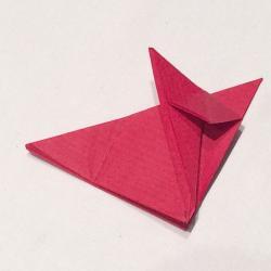 Schritt 6: Fuchs aus Papier falten