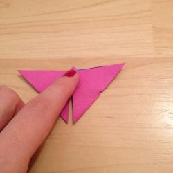 Schritt 13: Schmetterling aus Papier falten