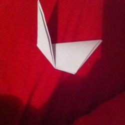 Schritt 4: Ente aus Papier falten