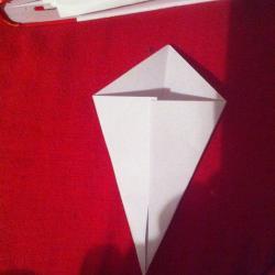 Schritt 2: Ente aus Papier falten