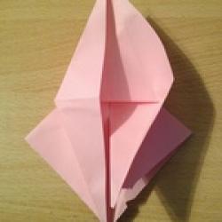 Schritt 10: Kamel aus quadratischem Blatt Papier basteln