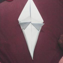 Schritt 14: Papagei aus Papier falten