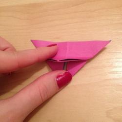 Schritt 11: Schmetterling aus Papier falten