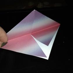 Schritt 5: Origami Papiervogel falten