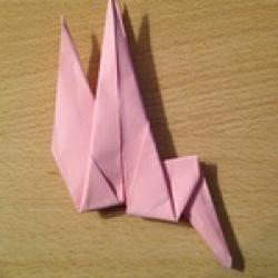 Schritt 17: Kamel aus quadratischem Blatt Papier basteln