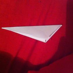Schritt 3: Ente aus Papier falten