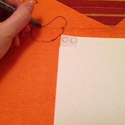 Schritt 13: Kücken aus Wolle basteln