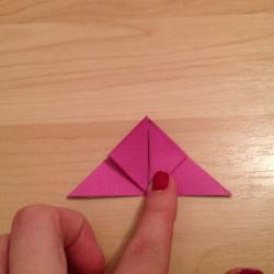 Schritt 9: Schmetterling aus Papier falten