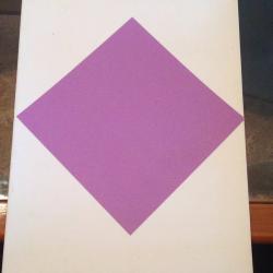 Schritt 1: Vogel aus Papier basteln