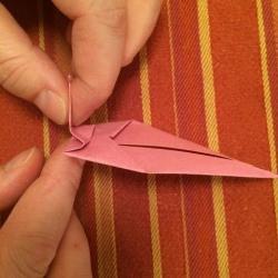 Schritt 6: Schnecke aus Papier falten