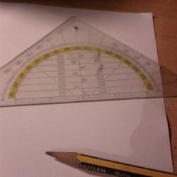Schritt 1: Wie malt man ein Parallelogramm