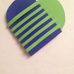 Schritt 17: Muttertagsgeschenke basteln ein Herz, Herztasche