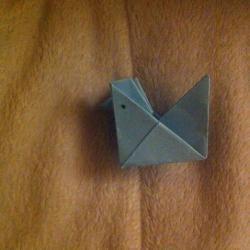 Schritt 10: Hahn aus Papier falten