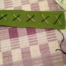 Schritt 10: Schöne Serviettenringe Basteln mit den Wollresten