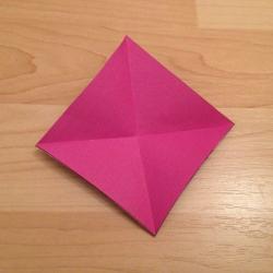 Schritt 3: Schmetterling aus Papier falten