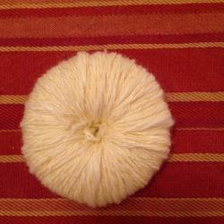 Schritt 5: Kücken aus Wolle basteln