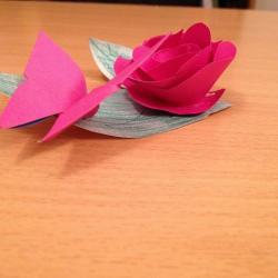 Schritt 18: Schmetterling aus Papier falten