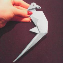 Schritt 31: Papagei aus Papier falten