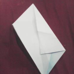 Schritt 5: Papagei aus Papier falten