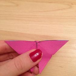 Schritt 15: Schmetterling aus Papier falten
