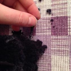 Schritt 23: Katze aus Wolle basteln