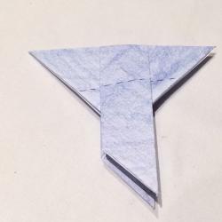 Schritt 5: Taube aus Papier falten