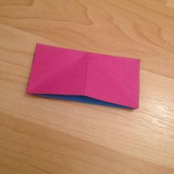 Schritt 5: Schmetterling aus Papier falten