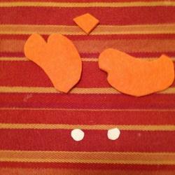 Schritt 15: Kücken aus Wolle basteln