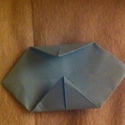 Schritt 6: Hahn aus Papier falten