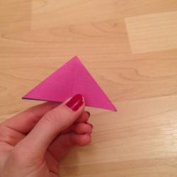 Schritt 7: Schmetterling aus Papier falten