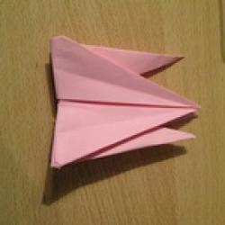 Schritt 15: Kamel aus quadratischem Blatt Papier basteln
