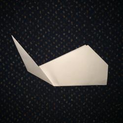 Schritt 6: Wal aus Papier basteln