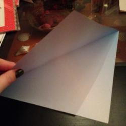 Schritt 1: Origami Papiervogel falten