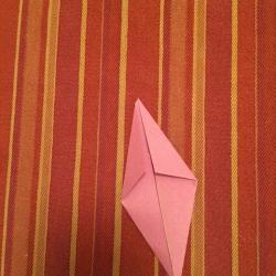 Schritt 4: Schnecke aus Papier falten