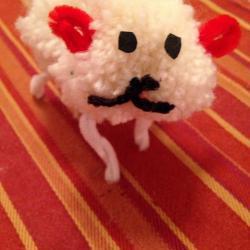 Schritt 26: Schaf aus Wolle basteln