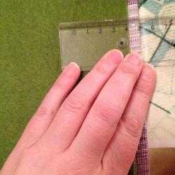 Schritt 2: Schöne Serviettenringe Basteln mit den Wollresten