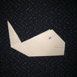Schritt 7: Wal aus Papier basteln