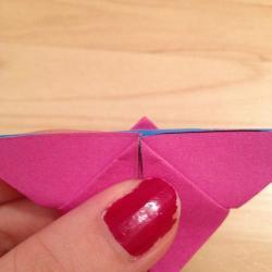 Schritt 14: Schmetterling aus Papier falten