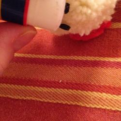 Schritt 24: Schaf aus Wolle basteln