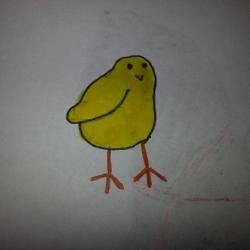 Schritt 6: Wie malt man ein Küken