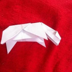 Schritt 17: Kuh aus Papier basteln