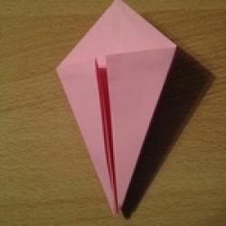 Schritt 7: Kamel aus quadratischem Blatt Papier basteln