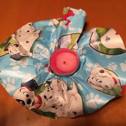 Schritt 5: Teelichthalter aus Papier basteln