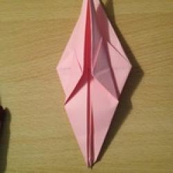 Schritt 13: Kamel aus quadratischem Blatt Papier basteln