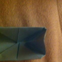 Schritt 7: Hahn aus Papier falten