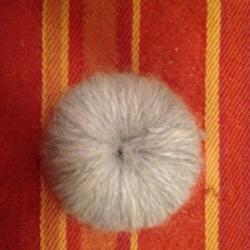 Schritt 3: Maus aus Wolle basteln