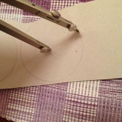 Schritt 2: Katze aus Wolle basteln