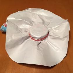 Schritt 6: Teelichthalter aus Papier basteln