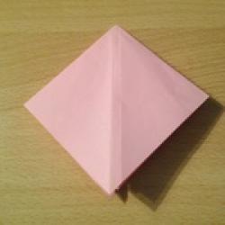 Schritt 5: Kamel aus quadratischem Blatt Papier basteln